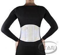 Пояс для спины пояснично-крестцовый полужесткий (100% хлопок)